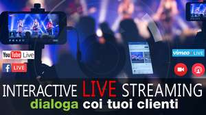 live streaming live YouTube, Facebook