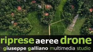 aerial drone video Galliano Studio
